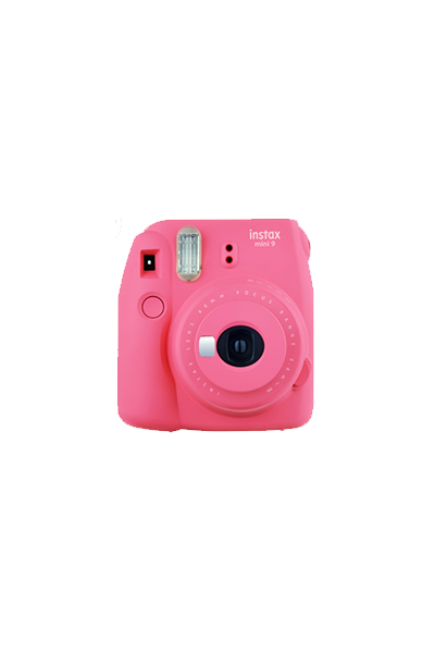 Pink Polaroid Instax Camera