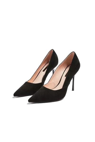 Pair of Black High Heels