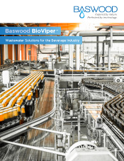 Baswood BioViper™ | Wastewater Solutions for the Beverage Industry
