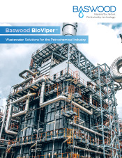 Baswood BioViper™ | Wastewater Solutions for the Petrochemical Industry
