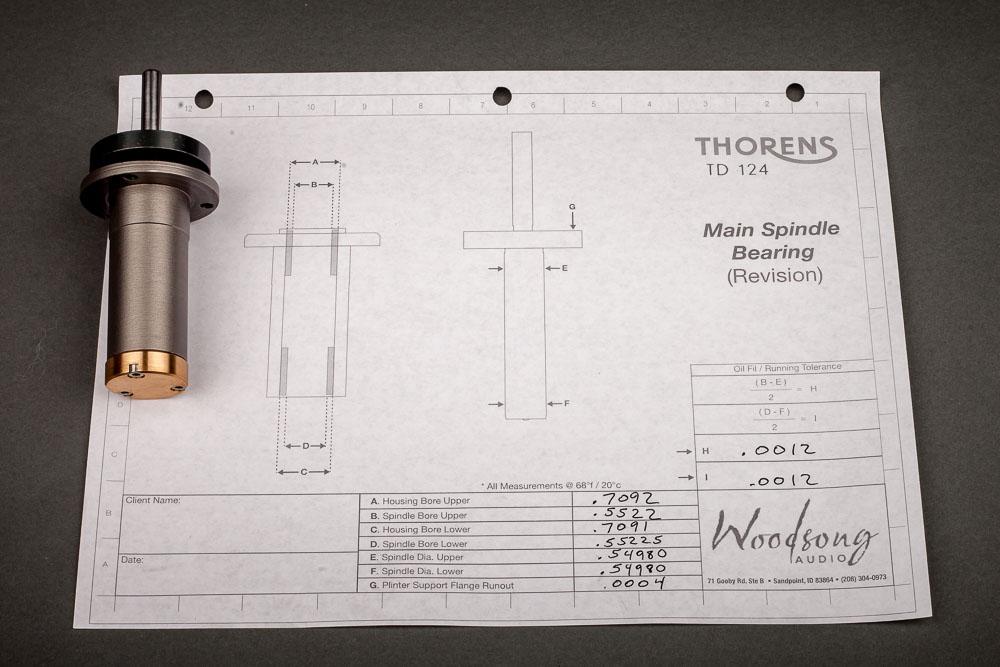 Thorens TD124 Thrust Bearing
