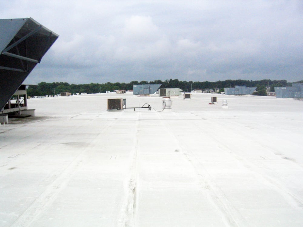 commercial roofing project in elkridge