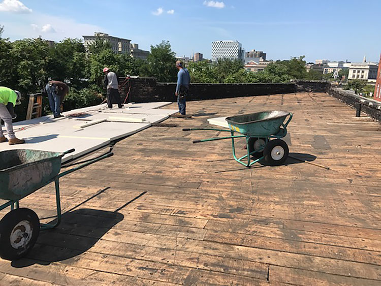 commercial roofing in baltimore