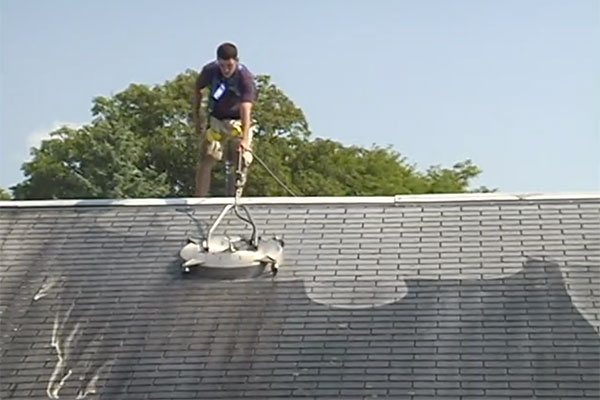 roof shampoo roof cleaning