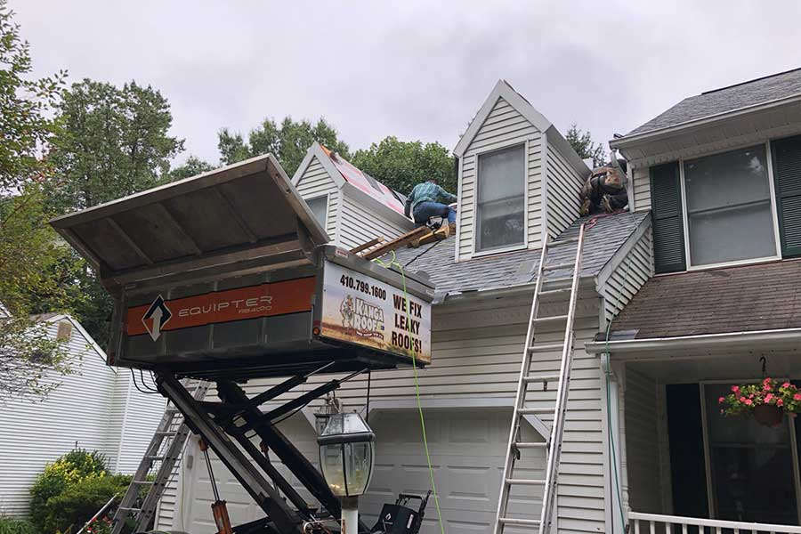 baltimore roof repair project