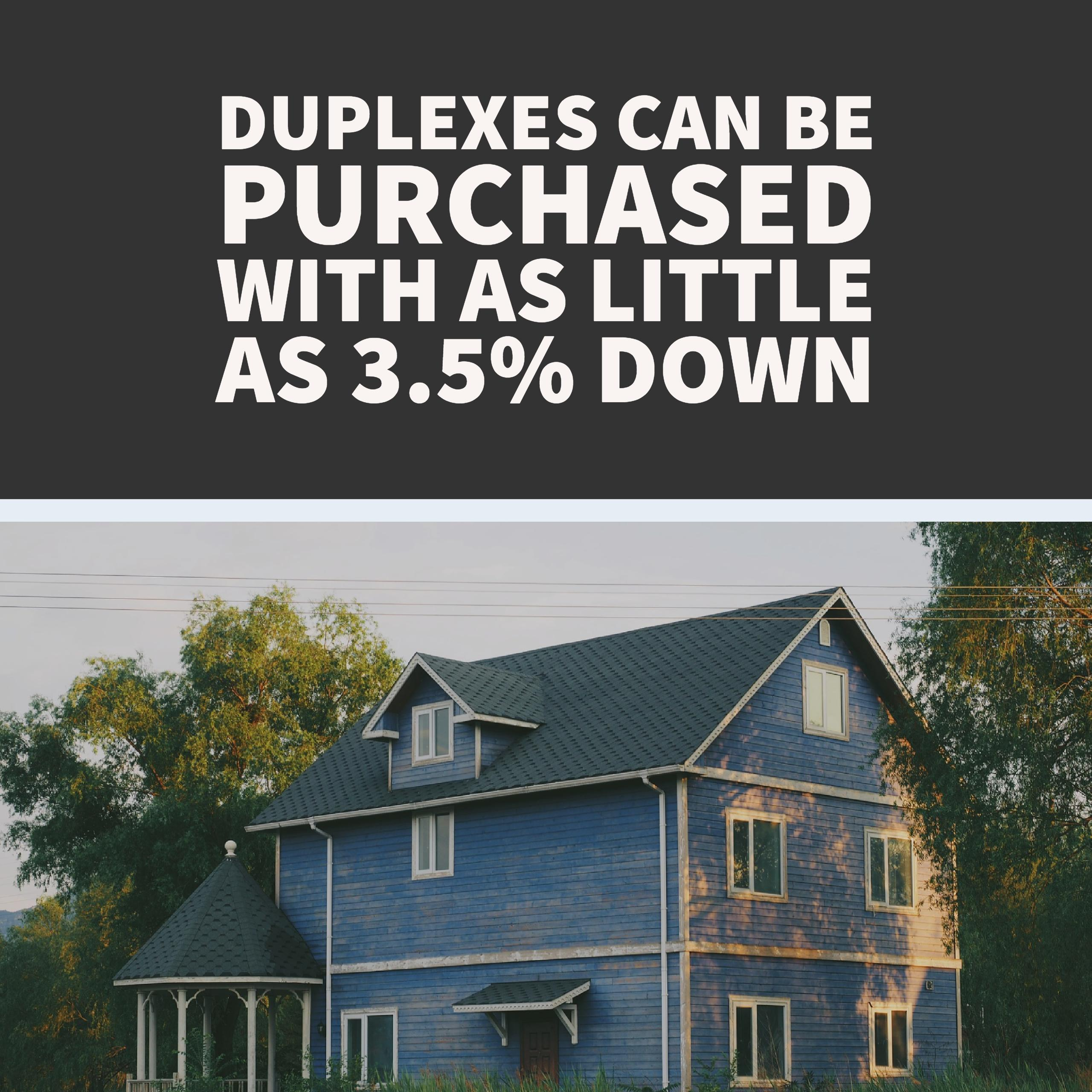 How To Start Real Estate Investing: An Owner Occupied Duplex