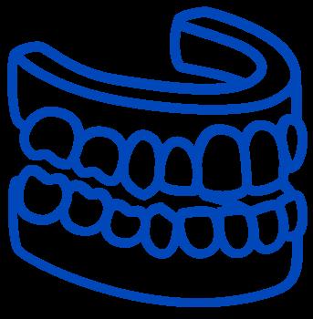 full teeth icon
