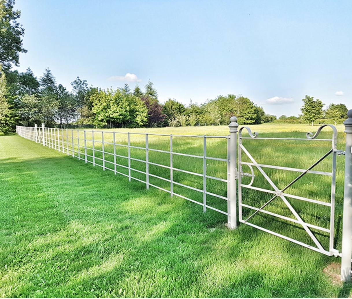 Metal Fencing by Bulldog Sheds & Fencing