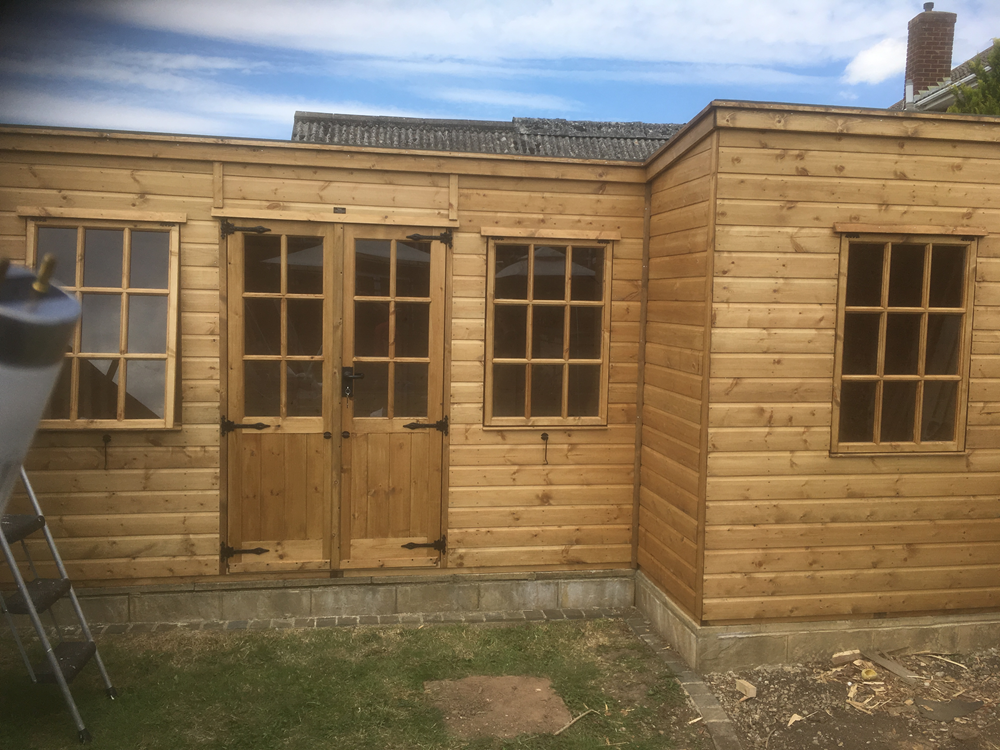 Garden Office by Bulldog Sheds & Fencing