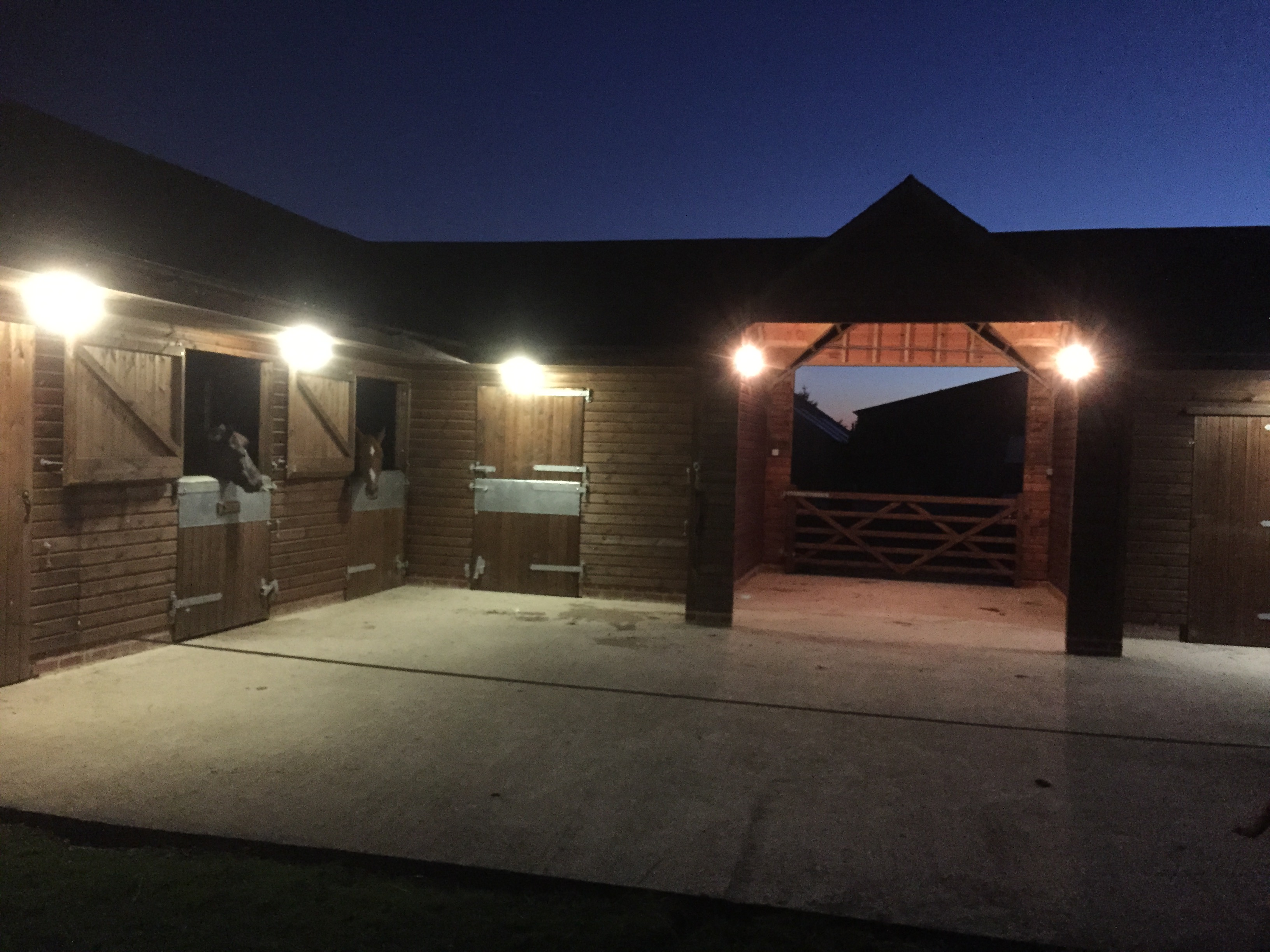 Stables & Equestrian Timber Buildings by Bulldog Sheds & fencing