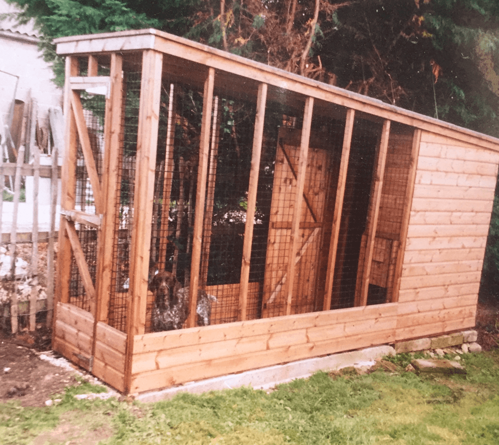 Kennels by Bulldog Sheds & Fencing