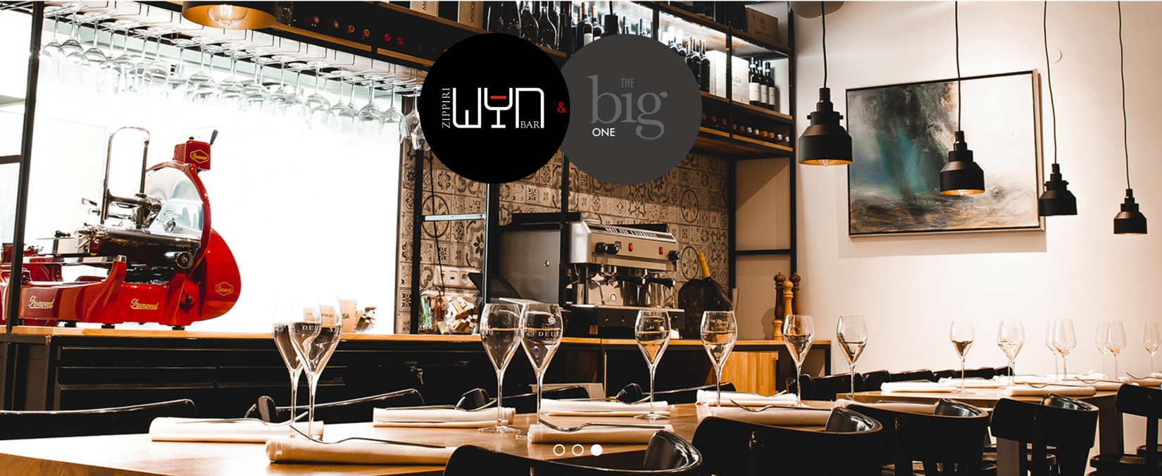 THE big ONE Tasting & Menu in der Zippiri Weinbar