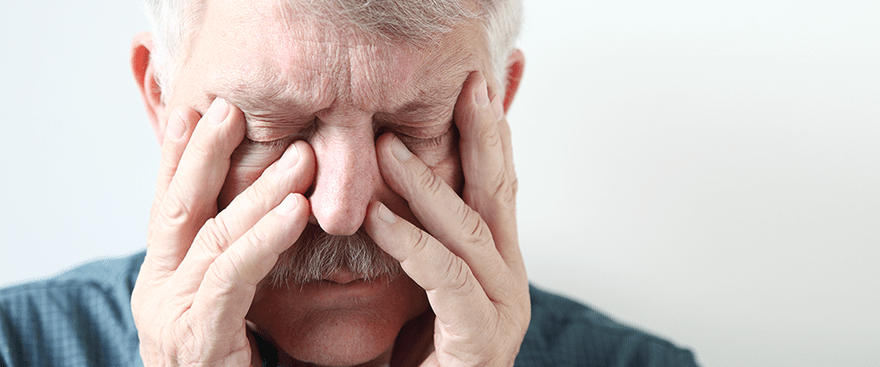 You've been suffering for years with sinus pain. Now it's time to stop.