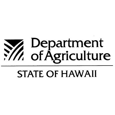 Department of Agriculture - State of Hawaii Logo