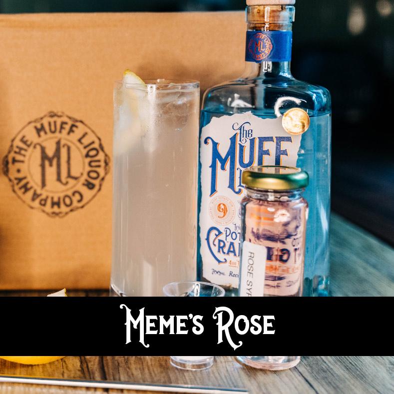 Meme's Rose Cocktail