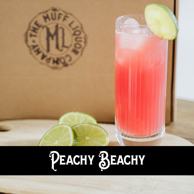 Peachy Beachy Cocktail