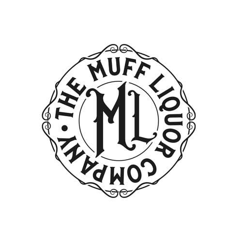 Muff Liquor Roundel - Black