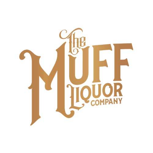 Muff Liquor Logo - Gold