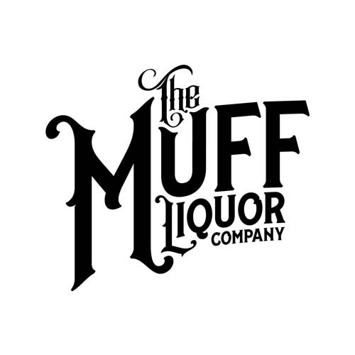 Muff Liquor Logo - Black