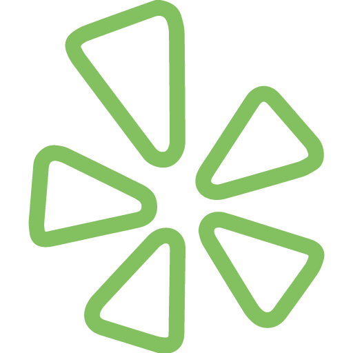 Yelp green icon