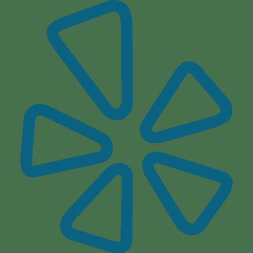 Yelp Blue icon