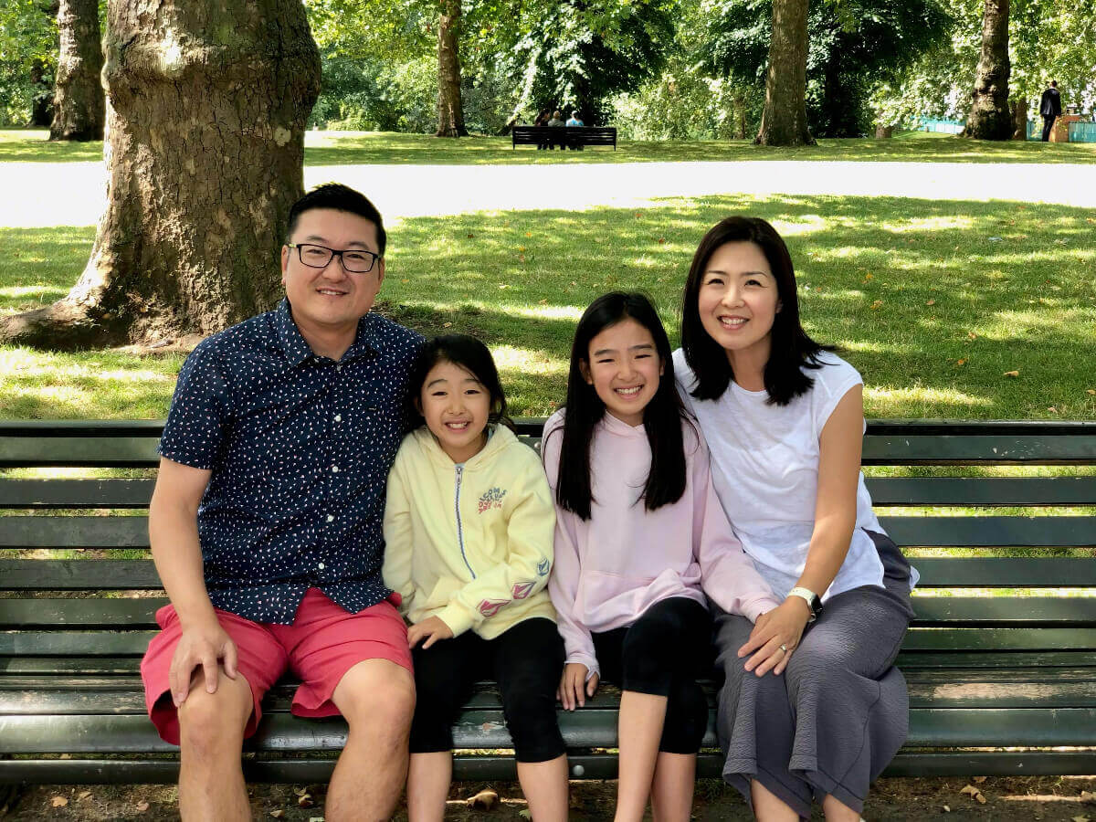 Dr. Lee's family