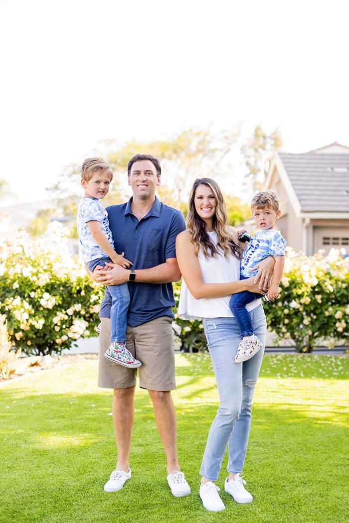 Dr. Polan's family