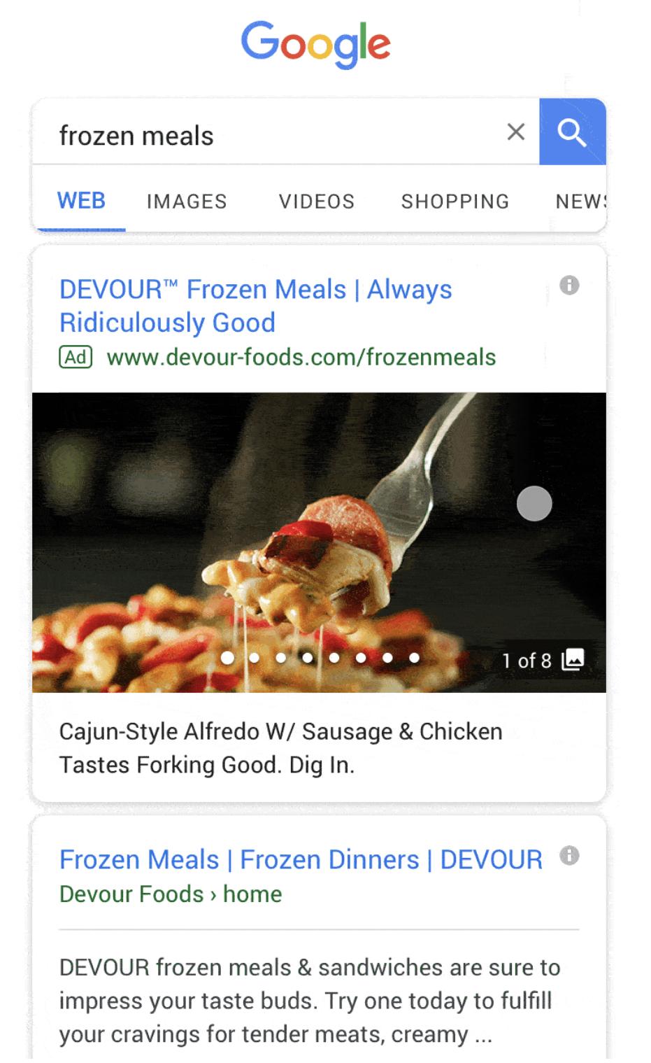 Google Gallery Ads Galerieanzeigen In Der Google Suche