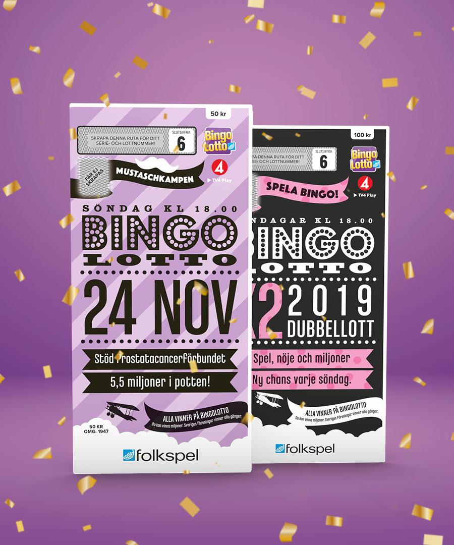 Bingolotter till den 24 november