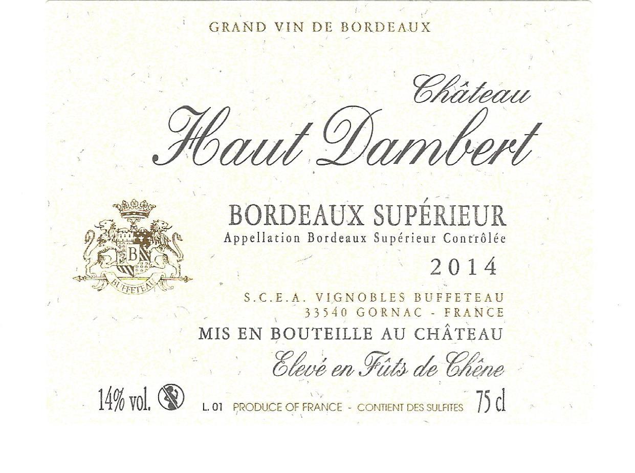 Château Haut Dambert