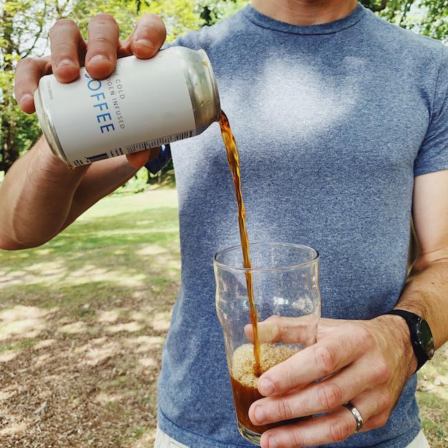 Nitro infused cold brew