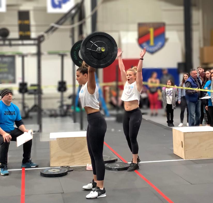 Micha Brooks and Heather Hamel
