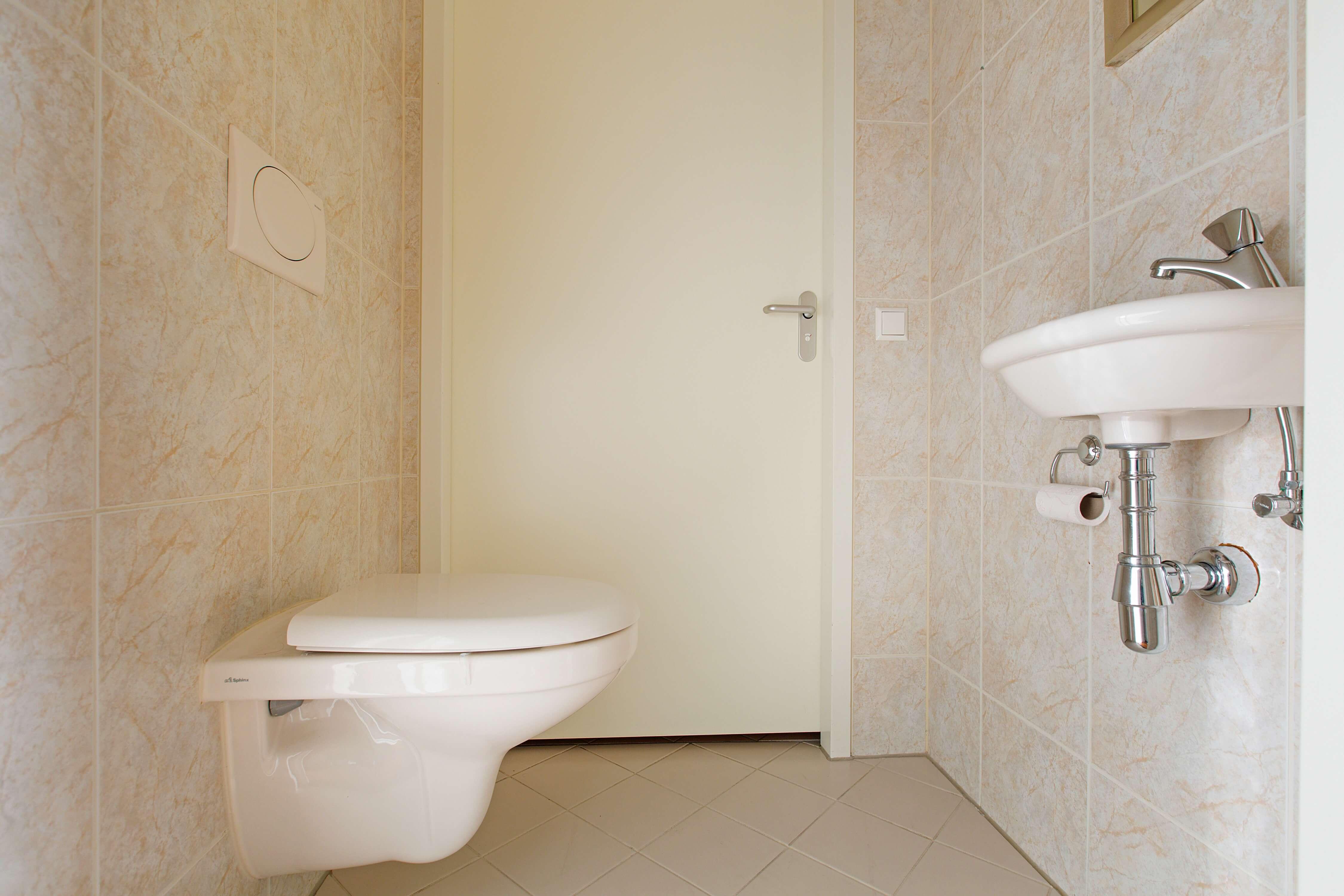 Te koop appartement Heemskerk Lessestraat Heemskerk toilet - Huisinzicht