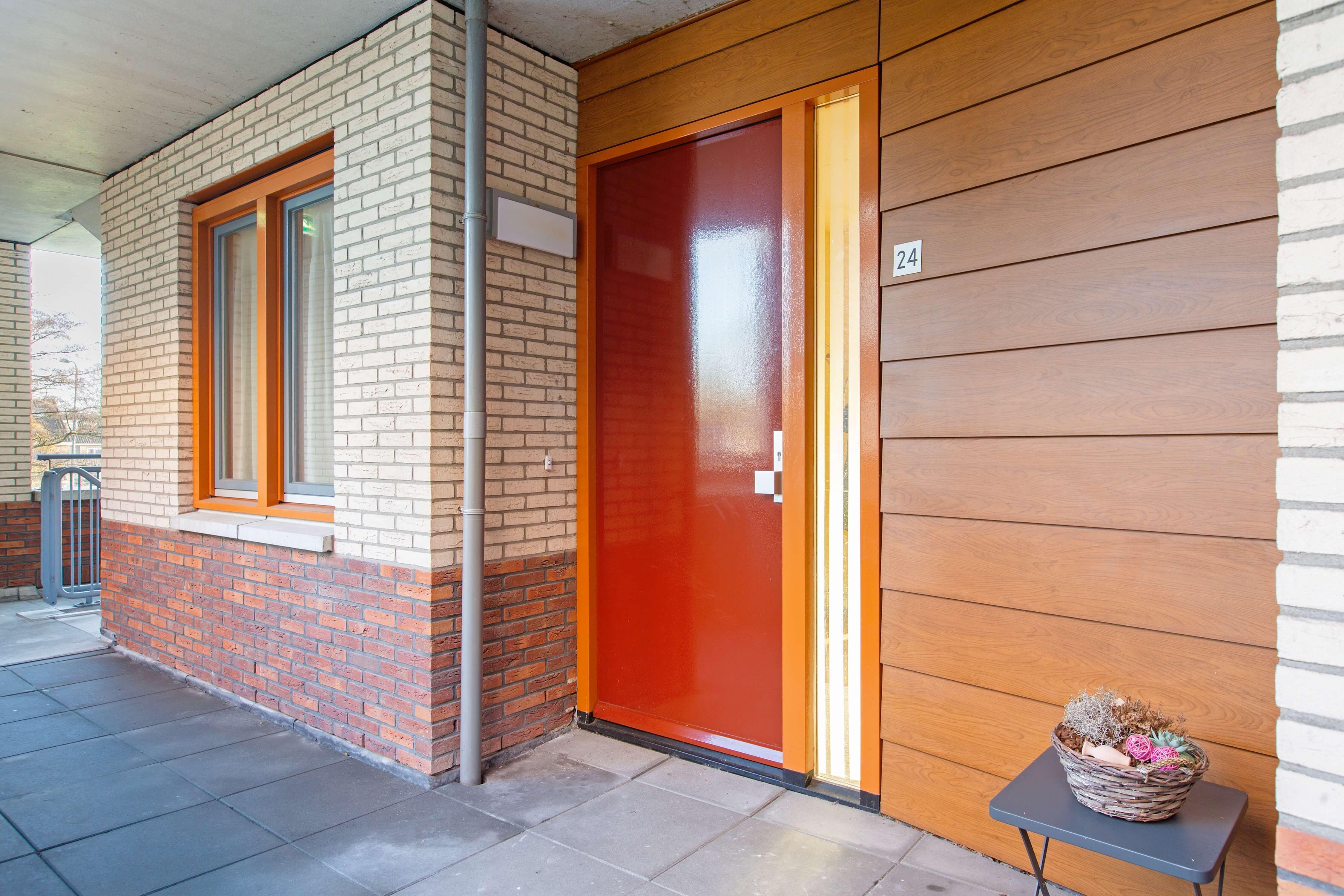 Te koop appartement Heemskerk Lessestraat Heemskerk voordeur - Huisinzicht