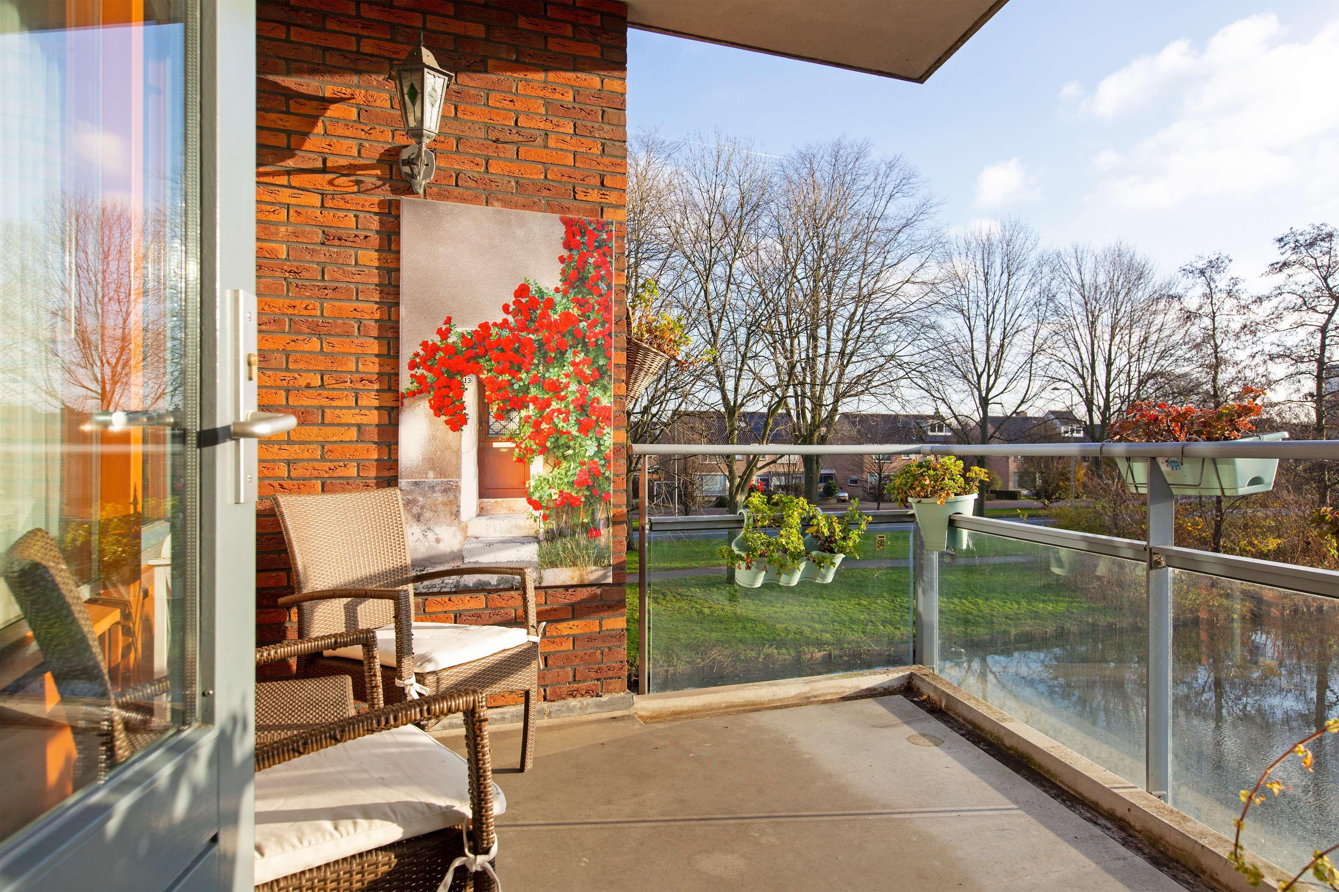 Te koop appartement Heemskerk Lessestraat Heemskerk balkon - Huisinzicht