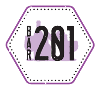 Bar 201 Streetside Market Logo