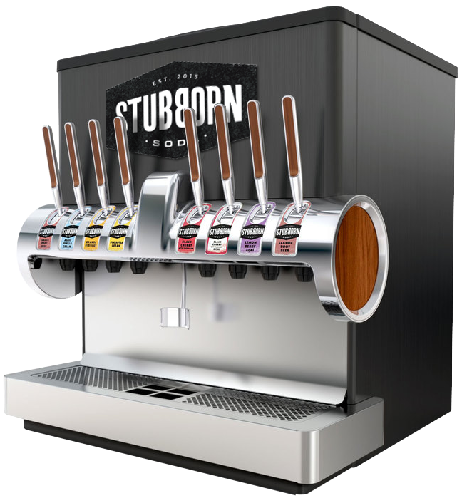 Stubborn Soda Machine