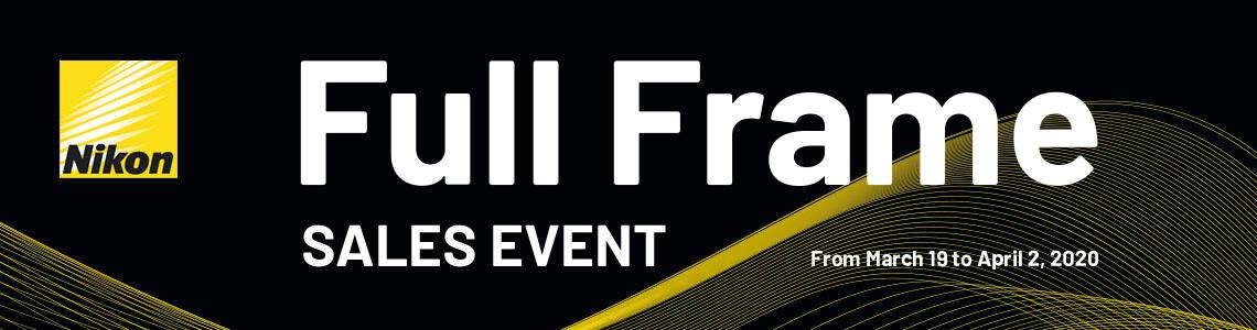 Nikon Full Frame Sales Event