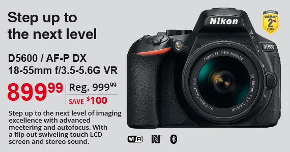 Step up to the next level D5600