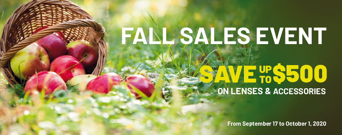 Fall Sales Event