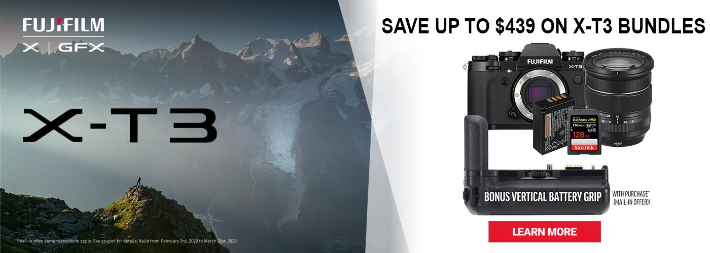 Fujifilm X-T3 Bundle Savings