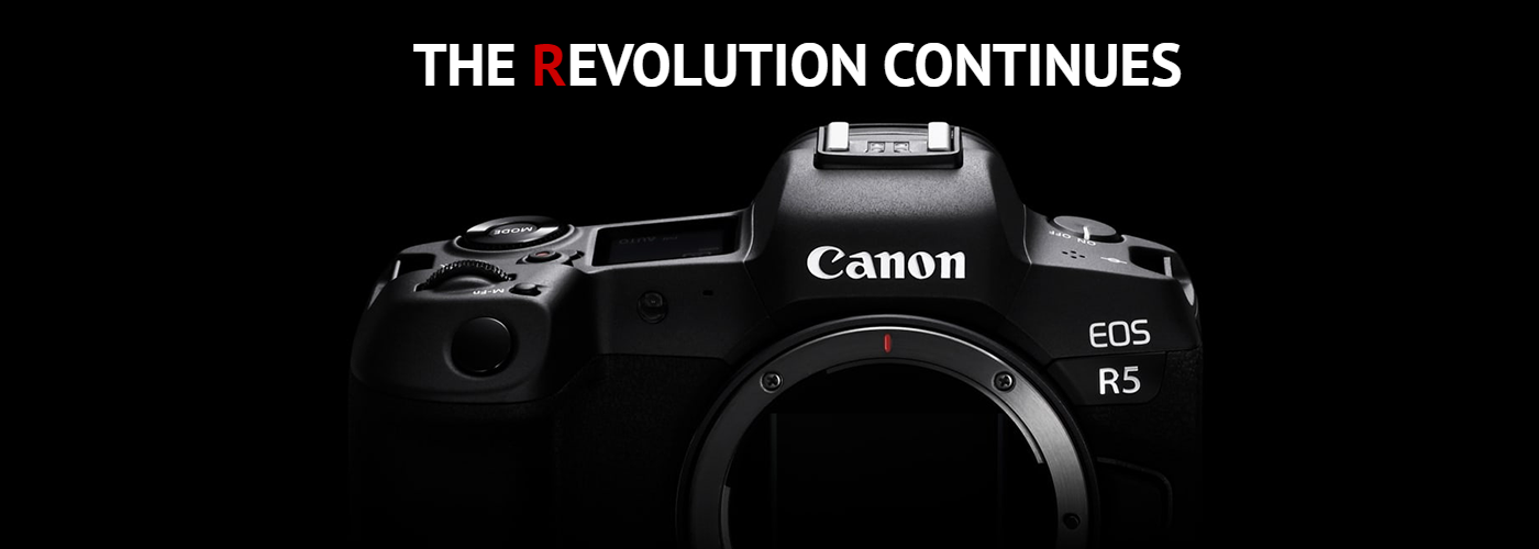 Canon Announces the Development Of the EOS R5