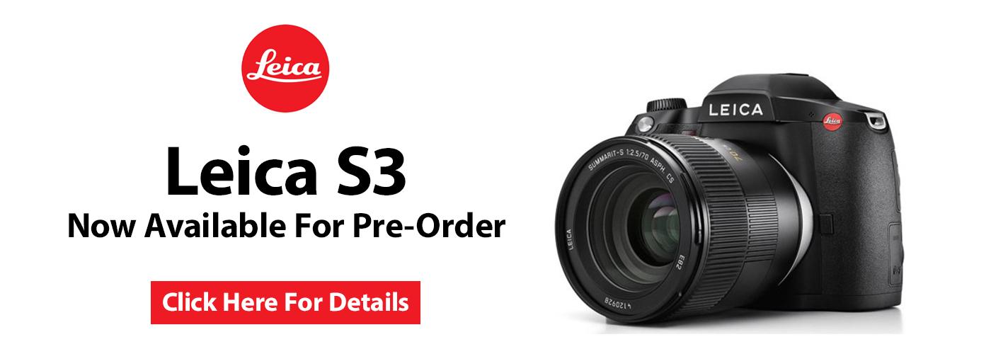 Leica S3 Pre-Order Event