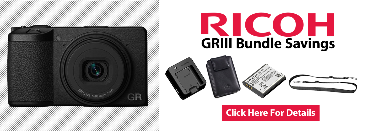 Ricoh GRIII Bundle Discounts