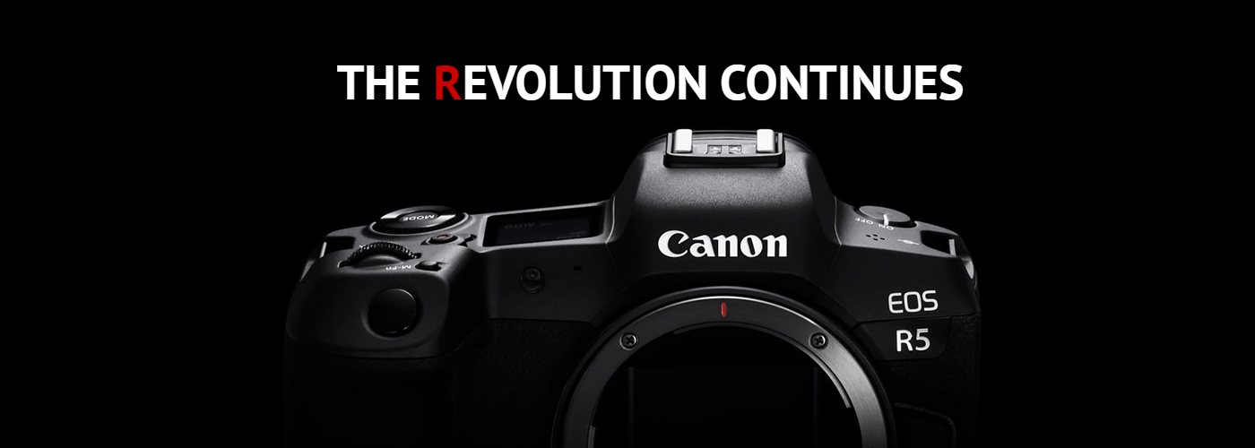Canon Announces the Development Of the EOS R5 - Updated June 23rd 2020