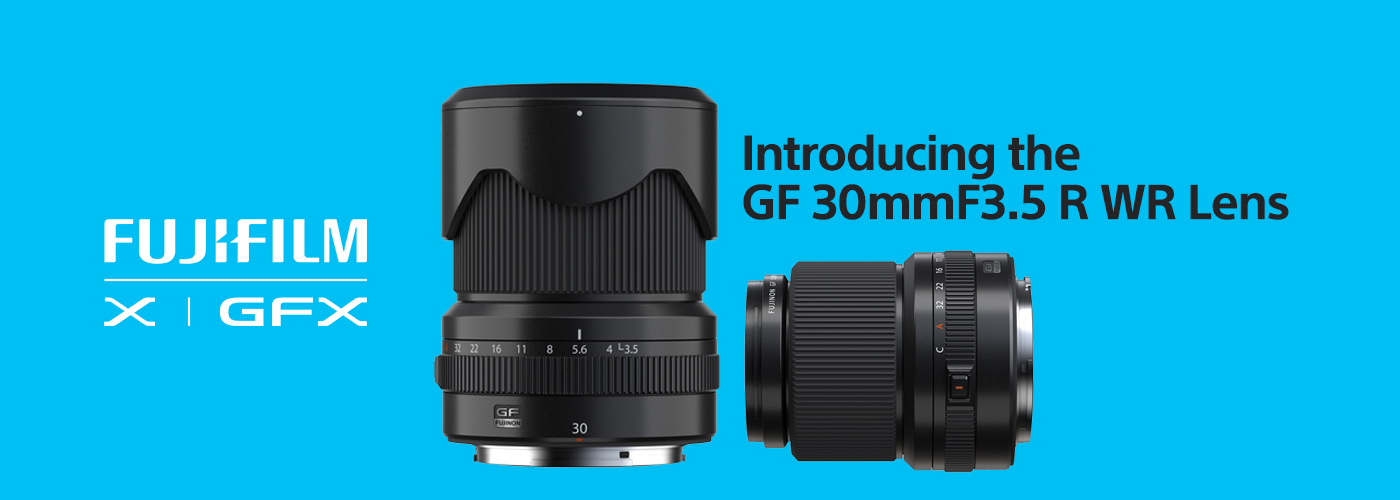 Fujifilm GF30mmF3.5 R WR Announcement