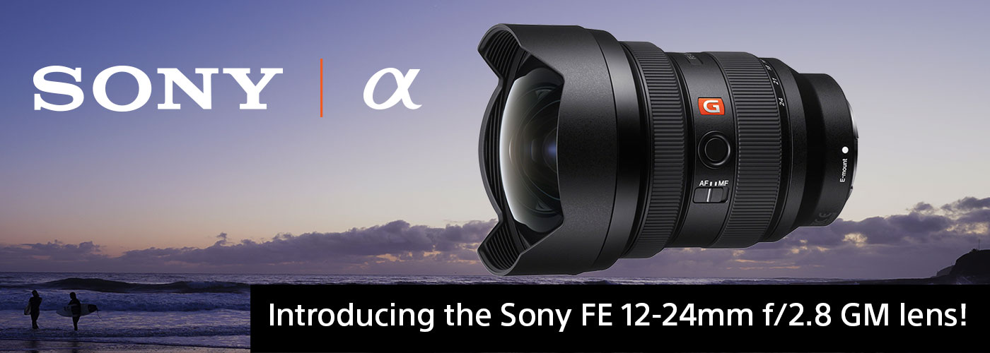 Sony FE 12-24mm F2.8 G MASTER Full-frame Constant-aperture Ultra-wide Zoom Lens (SEL1224GM) Black