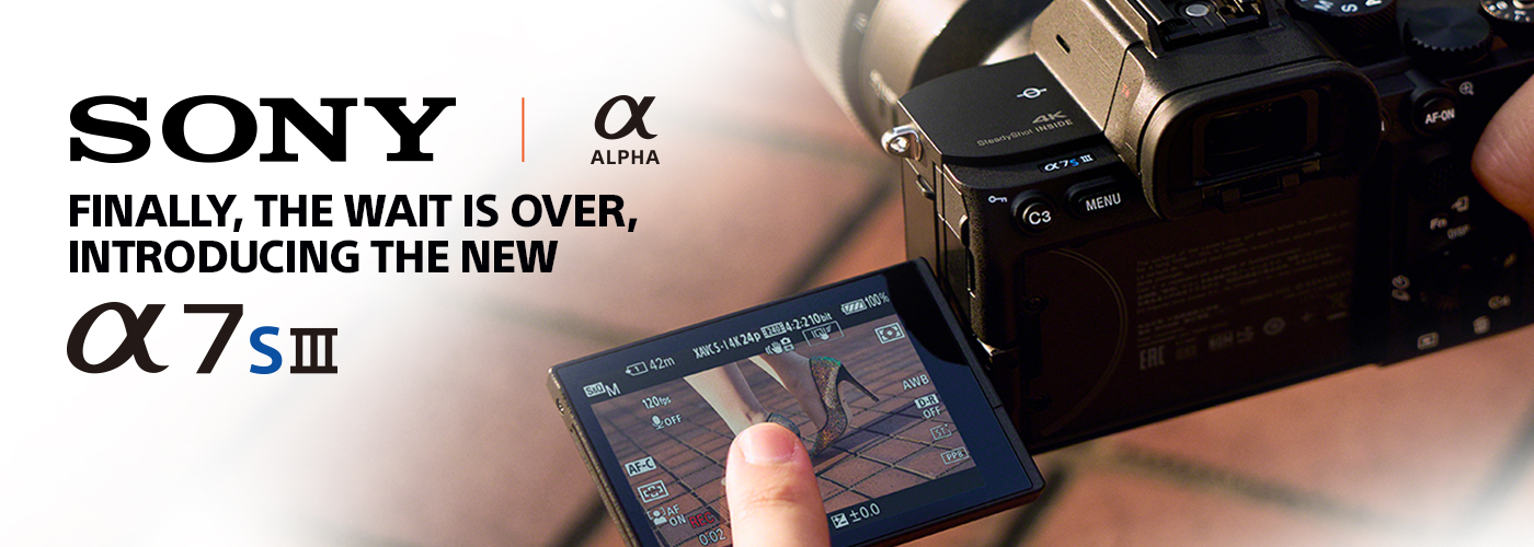 Sony A7S III launch event