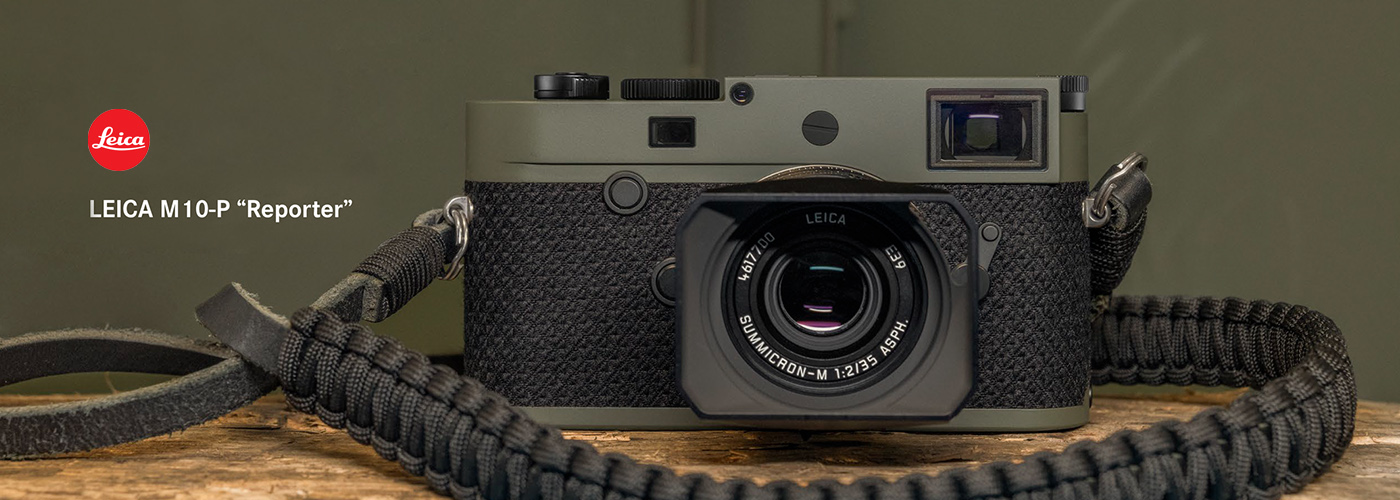 "LEICA M10-P ""Reporter"" Announcement"