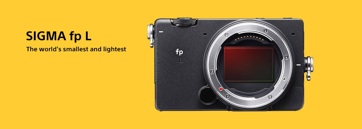 Sigma launches the fp L, the world's smallest and lightest 61MP mirrorless hybrid camera and EVF-11 electronic viewfinder